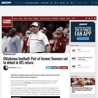 Oklahoma football-