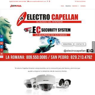 Inicio - Electro Capellan - El mundo del inversor RD