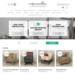 Melonwoods Indonesian Furniture - Quality Wooden FurnitureHome - Melonwoods Indonesian Furniture - Quality Wooden Furniture