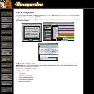 Rosegarden- music software for Linux