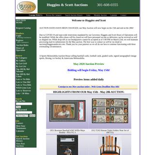 ArchiveBay.com - hugginsandscott.com - Sports Memorabilia Auction selling Baseball Cards, Football Cards, Graded Cards, Signed Autographed Vintage Sports, Boxing, Ice