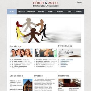 Hébert & Associates - Ottawa Psychologists