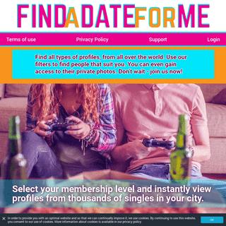 findadateforme.com - Dates and Casual Hookups