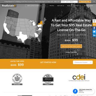Real Estate License - Real Estate U
