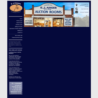 EJ Ainger - Auction Rooms