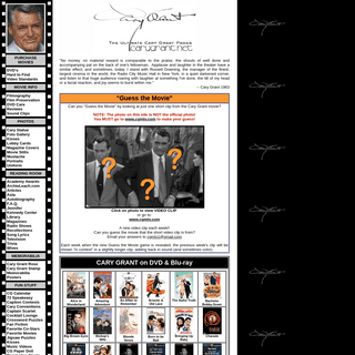 The Ultimate Cary Grant Pages