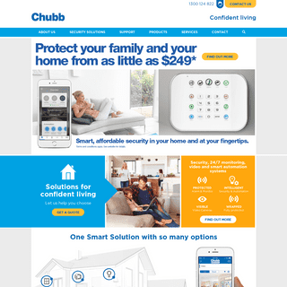 Chubb Home Security - Alarm Installations, Automation Systems