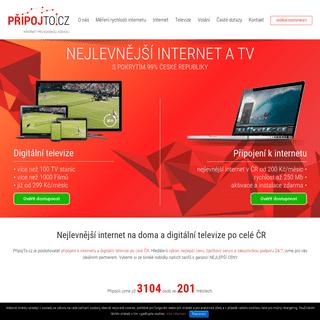 Internet na doma - PřipojTo.cz