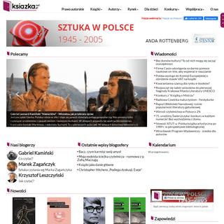 Wiadomości i informacje o książkach i wszelkich przejawach kultury książki - Portal Księgarski