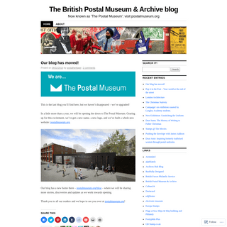 The British Postal Museum & Archive blog - Now known as 'The Postal Museum'- visit postalmuseum.org