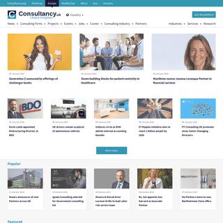 Consultancy.uk - UK consulting industry platform