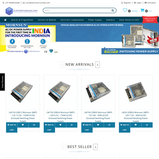 Buy Electronics Components Online in India - Electronic Components Store