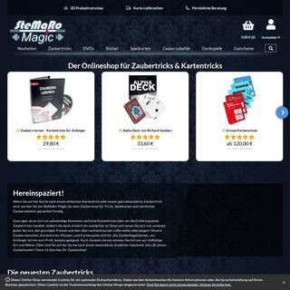SteMaRo-Magic Zaubershop - Onlineshop für Zaubertricks, Kartentricks und Zauberzubehör.