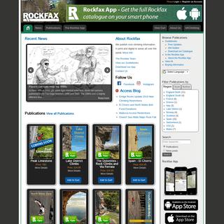 Rockfax - World Rock Climbing Information