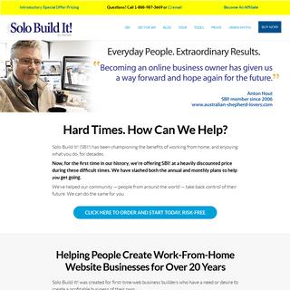 ArchiveBay.com - sitesell.com - Solo Build It! (SBI!)- Solopreneurs Build A Profitable Online Business