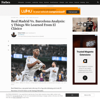 ArchiveBay.com - www.forbes.com/sites/robertkidd/2020/03/01/real-madrid-vs-barcelona-analysis-5-things-we-learned-from-el-clsico/ - Real Madrid Vs. Barcelona Analysis- 5 Things We Learned From El Clásico