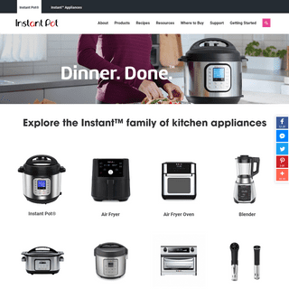 Instant Pot - America's #1 Pressure Cooker & Multicooker