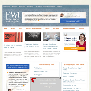 Freelance Writing Jobs - Freelance writing resources, jobs, gigs and advice