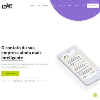 Take - Plataforma BLiP, Chatbots e Contatos Inteligentes para Empresas