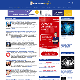 ArchiveBay.com - auntminnieeurope.com - European Radiology and Imaging News, Information, Education and Services