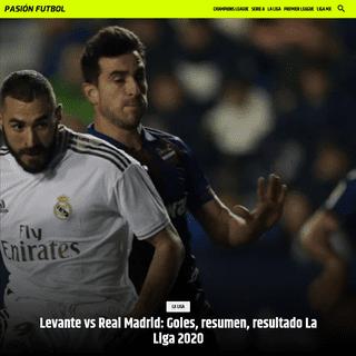 ArchiveBay.com - www.pasionfutbol.com/la-liga/levante-vs-real-madrid-goles-resumen-resultado-la-liga-2020-20200222-0016.html - Levante vs Real Madrid- Goles, resumen, resultado La Liga 2020 - Pasión Fútbol