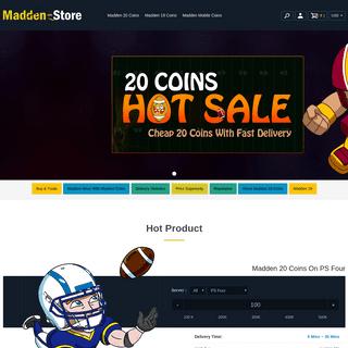 Madden-Store- Cheap Madden NFL 20 Coins, Buy MUT 20 Coins