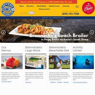 Home - Brennecke's Beach Broiler