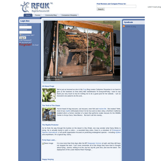 Reptile Forums - HomePage