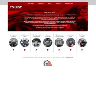 Stalker Radar-Police radar, sports radar, police lidar, speed sensors, radar trailers, CopTrax In-car Video & Body Cameras