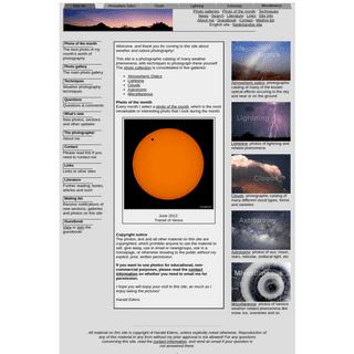 Weather Photography- lightning, clouds, atmospheric optics & astronomy