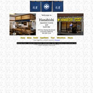 A complete backup of hanabishi-restaurant.com