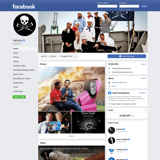 Jackass - Home - Facebook