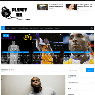 Homepage - Planet Ill