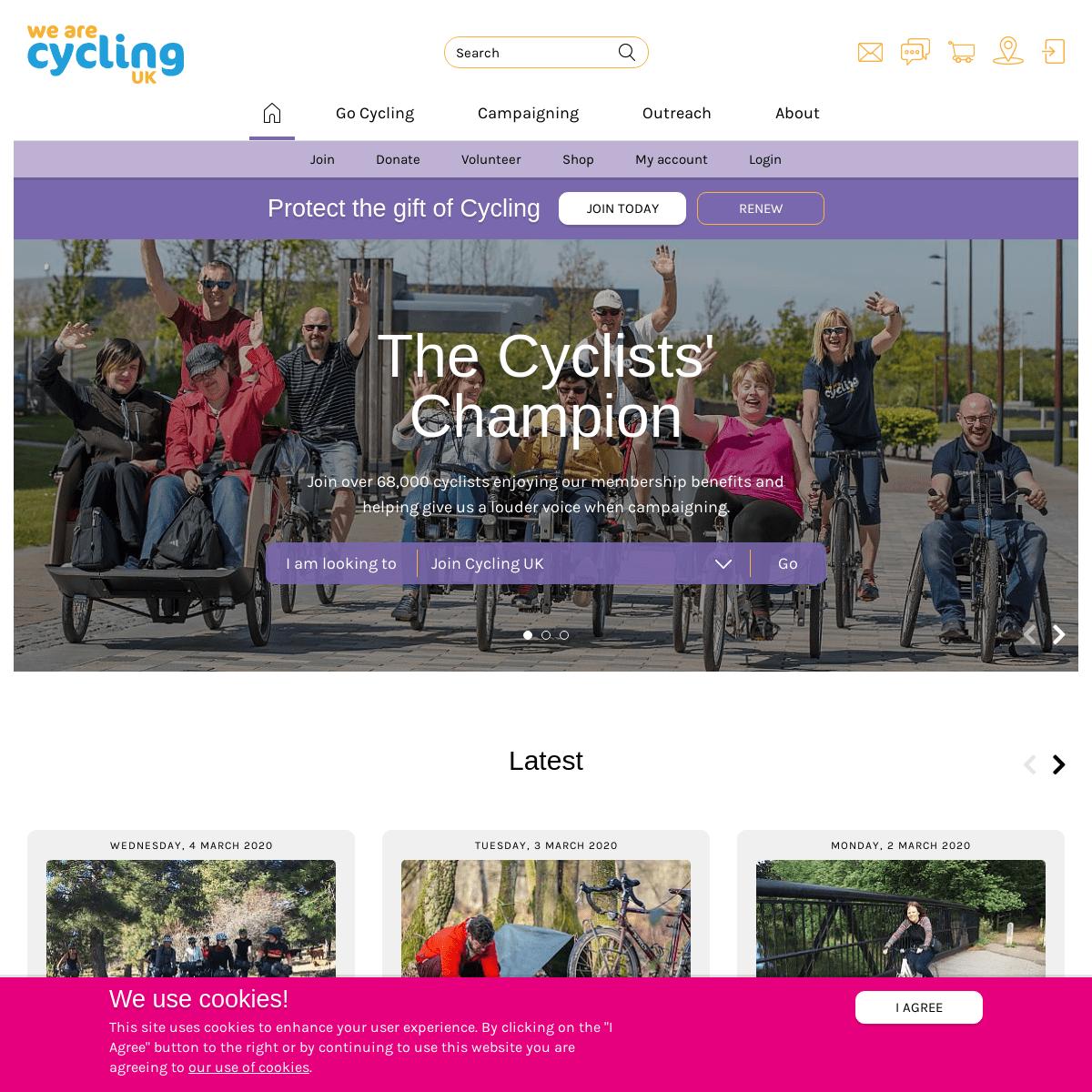 Cycling UK - The Cyclists' Champion