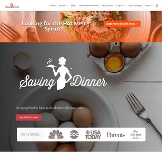 Home - Saving Dinner