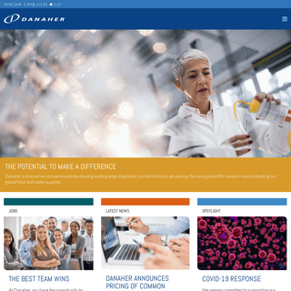 Danaher - Global science & technology innovator