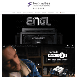 Two notes Official Website - Home of Torpedo Hardware and Software