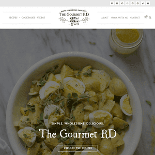 The Gourmet RD - Easy, healthy recipes