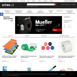 Sklep medyczny Orteo.pl - sprzęt rehabilitacyjny, ortopedyczny