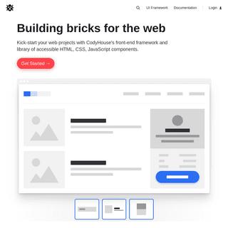 CodyHouse - Web Design Nuggets