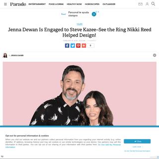 Jenna Dewan and Steve Kazee Are Engaged