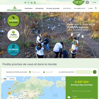 Reforest'Action - Je plante ma forêt