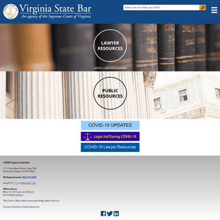 Virginia State Bar - An Agency of the Supreme Court of Virginia