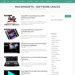 MacWinSofts - Mac & Windows Full Software Cracks Keygen