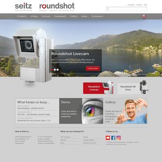 Roundshot – fast 360 degree panoramic equipment