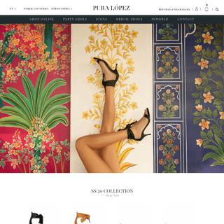 Women's Shoes - Womens Shoes on Sale - Pura Lopez Official Site . PURA LOPEZ