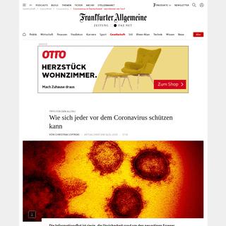 Coronavirus in Deutschland – was können wir tun-