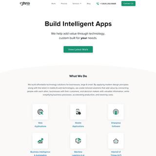Web, Mobile & AI applications development company - Cygnis Media
