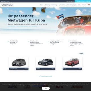 Kuba günstige Mietwagen für Ihre individuelle Reise