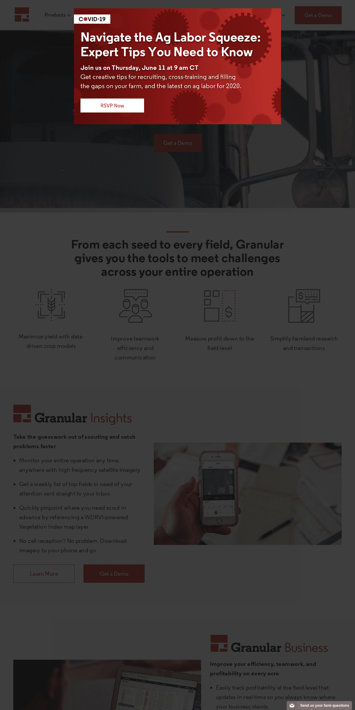 Granular - Know More. Profit More. Farm management software and agronomy solutions
